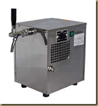 оборудование для розлива одного сорта пива: пивной охладитель сухого типа