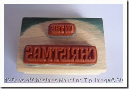 12 Days of Christmas, Mounting Tip, Amanda Bates, The Craft Spa 002