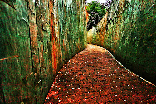 Red Brick Road of Oz by Shahrul A Hamid - City,  Street & Park  City Parks (  )