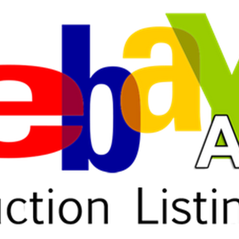 Artist Guide to Setting Up an Ebay Auction Listing