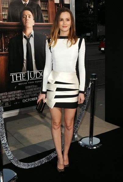 Leighton Meester Judge Premieres Beverly Hills