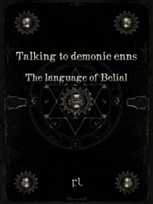 Talking to demonic enns - The Language of Belial Cover