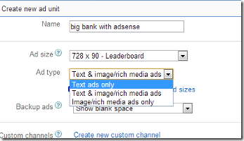 Select-text-and-media-ads