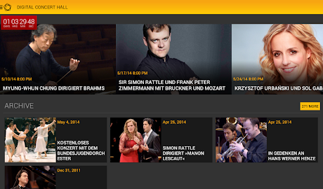 Digital Concert Hall Screenshot 12