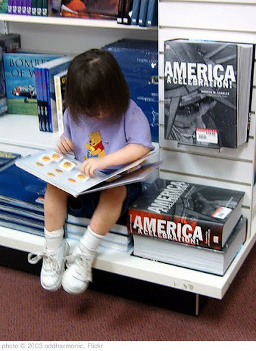 'Reading at the bookstore' photo (c) 2003, oddharmonic - license: http://creativecommons.org/licenses/by-sa/2.0/