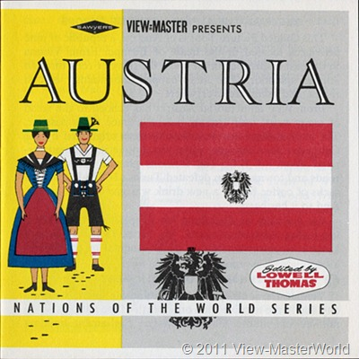 View-Master Austria (B198), booket cover