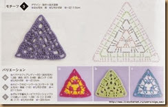crochet triangle twenty-three