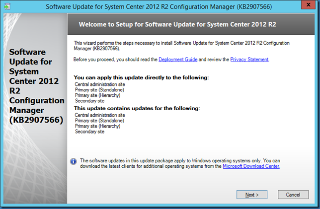 MINDCORE BLOG: System Center Endpoint Protection Client Update