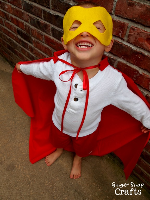 diy super hero costume for kids