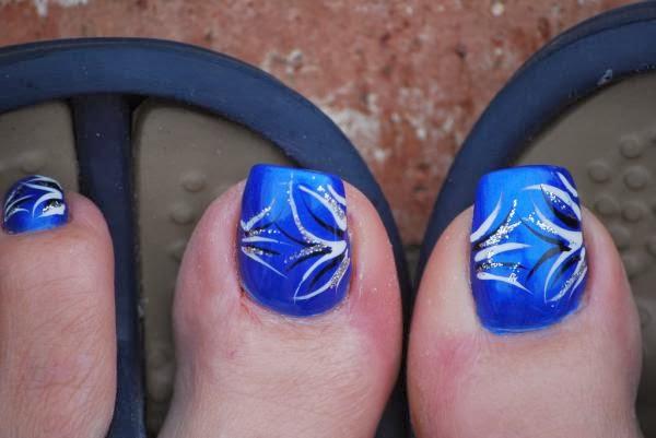 Cute Blue Nail Designs