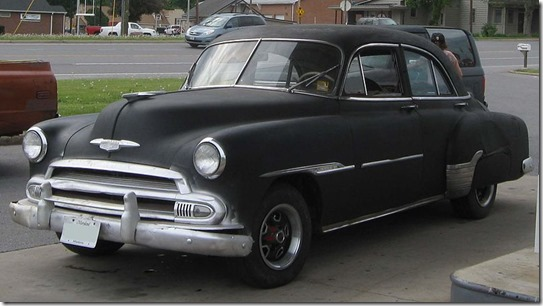 1951 Chevrolet Sedan Photographed by IFCAR Wikimedia Commons All Rights Released