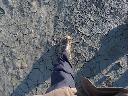 Cu cizmele pline de noroi