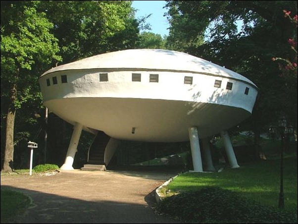 UFO House - Chattanooga, Tennessee, USA 01