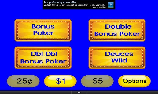 Video Poker Mania - screenshot thumbnail