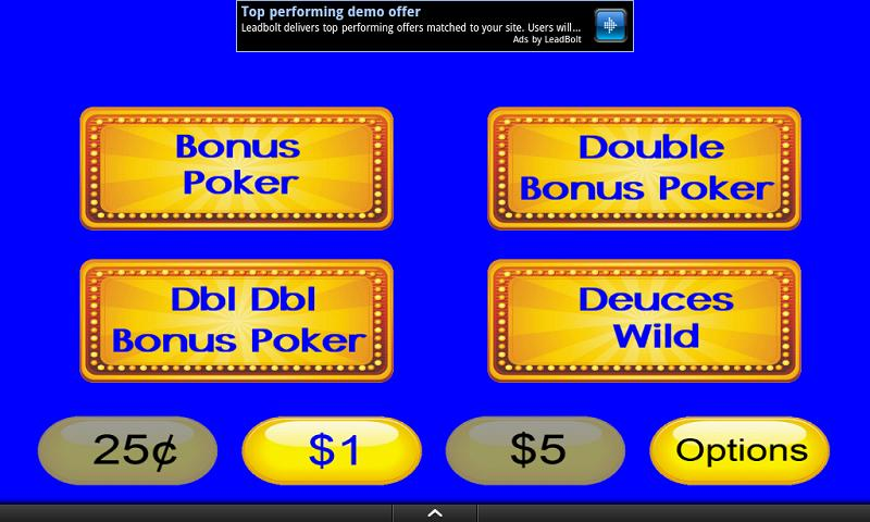 Video Poker Mania - screenshot