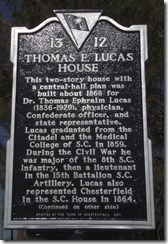 Hist. Marle-Thos. F. Lucas House
