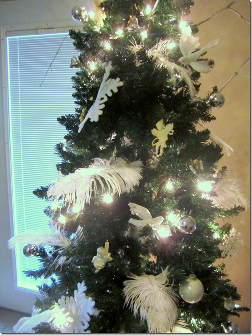 Christmas Tree White Decorations2