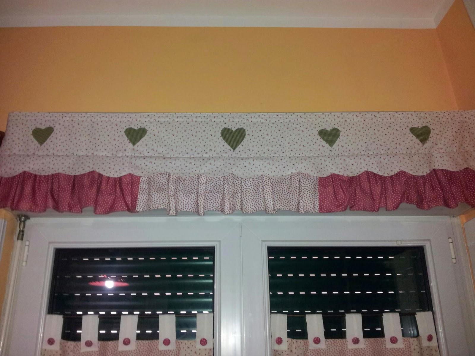 Tende con cuori cheap tende con cuori with tende con for Mantovana moderna