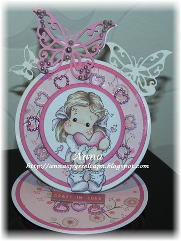 Anna - shaped cards
