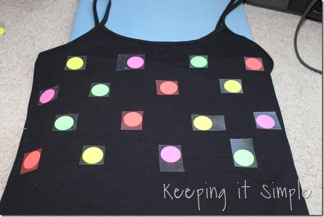 NEON polka dot shirt (5)