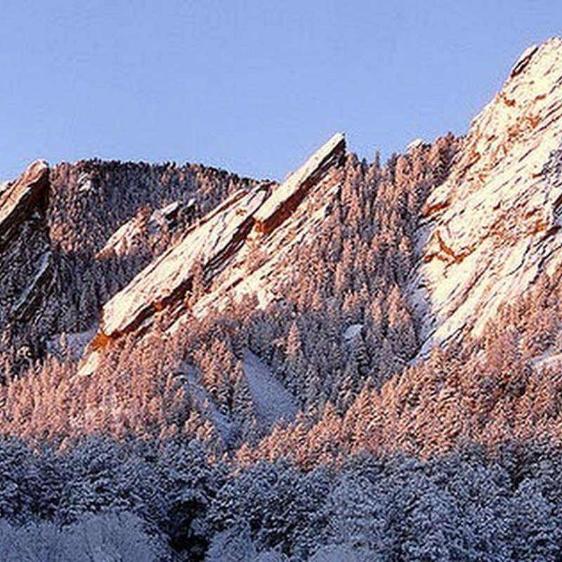 Flatirons of Green Mountain, Colorado