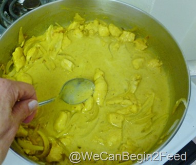 June 2 Curried Coconut Chicken 002