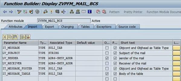 Triggering mail in SAP - Team ABAP