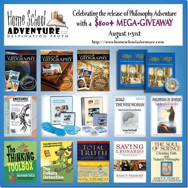 homeschool adventure mega giveaway