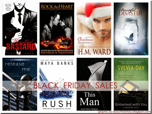 Black Friday Kindle Book Sales