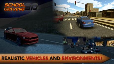 3D Car Driving School - Learn to Drive Car in Real World Environment