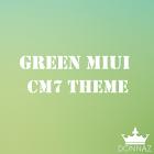 Green MIUI CM7 Theme icon