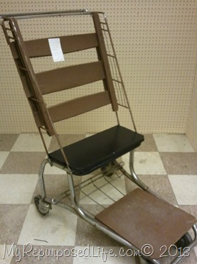 grocery cart chair