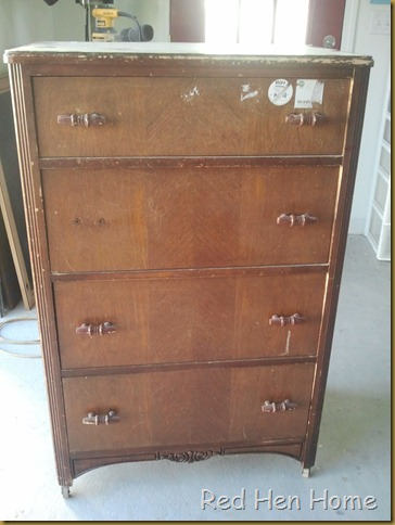 Red Hen Home two-tone dresser