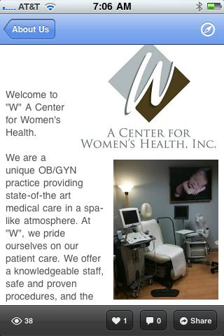 W Health for Women - screenshot