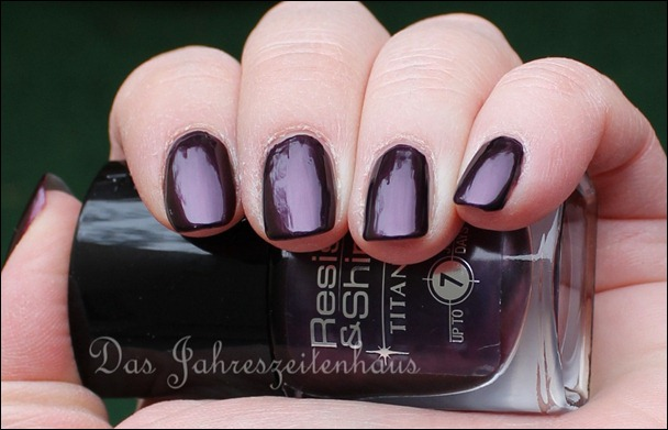 L'Oreal Paris Resist & Shine Titanium - Black Violet 5