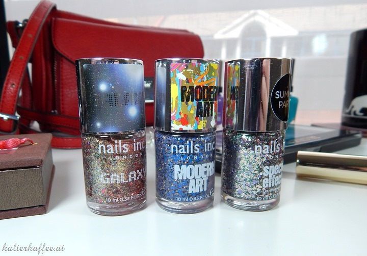 Nails Inc Glitter Nail polishes