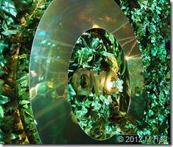 green xmas QVC