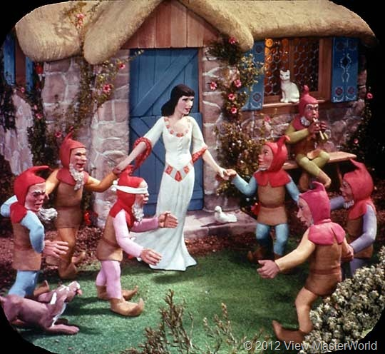 View-Master Snow White and the Seven Dwarfs (B300), Scene 14