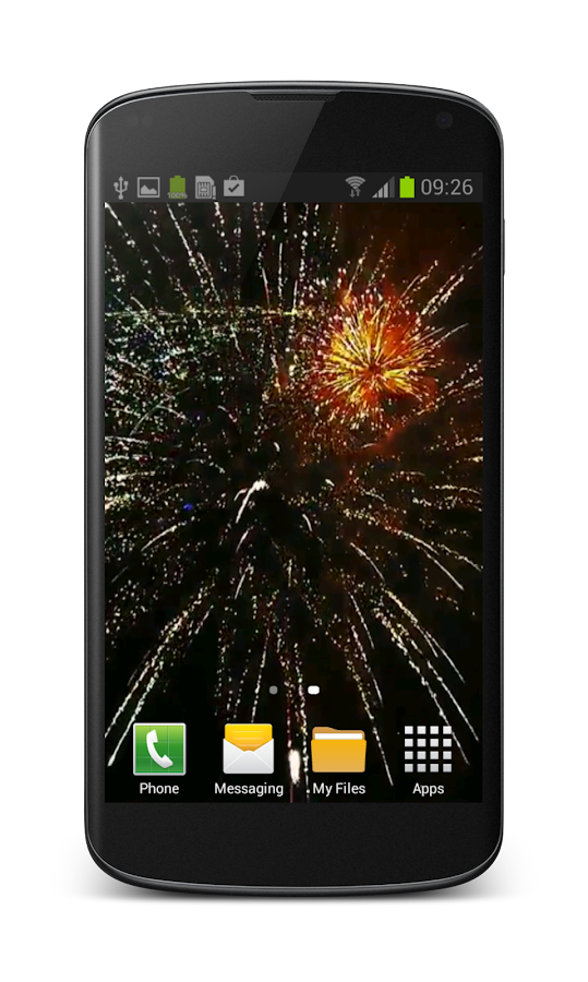 Fireworks Video Wallpaper Free- screenshot