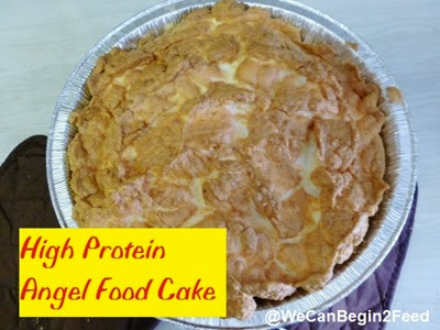 High Protein Angel Food Cake