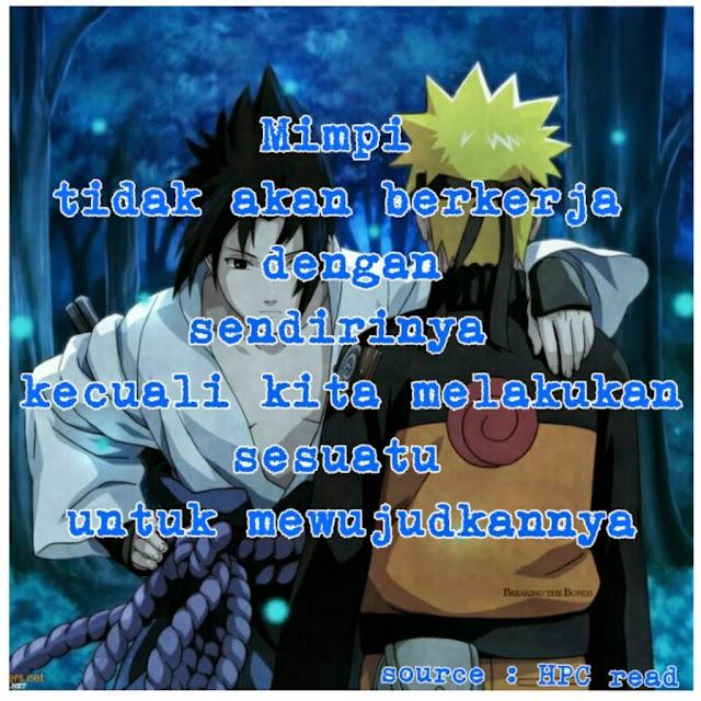 Kata Kata Bijak Dalam Anime Naruto