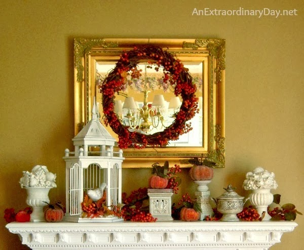 Fall-Nesting-Crabapple-branches-make-the-Fall-Mantel-Glow-Fall...Its-Extraordinary-AnExtraordinaryDay.net_