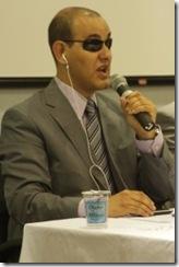 Clóvis Alberto Pereira - secretário de acessibilidade da ONCB