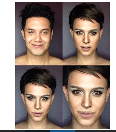 PHOTOS: Dad Transforms Himself Into Celebrities Using Makeup And Wigs 26
