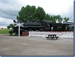0960 Alberta Calgary - Heritage Park Historical Village - steam train