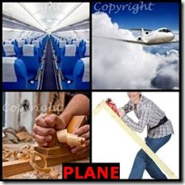 PLANE- 4 Pics 1 Word Answers 3 Letters