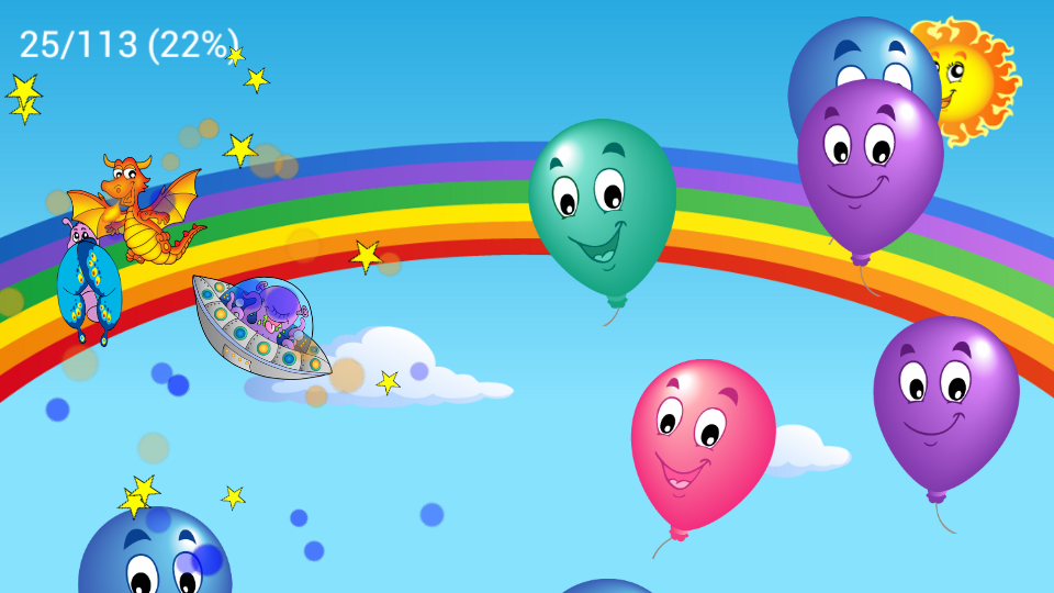 Kids Balloon Pop Game Free - screenshot
