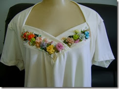 ribbon embroidery top 2