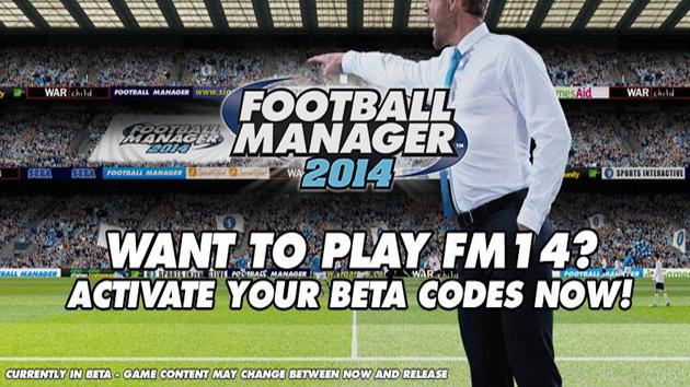 Football Manager 2014 BETA