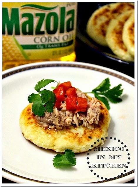 Potato Patties with Cheese Recipe | Tortitas de Papa con Queso